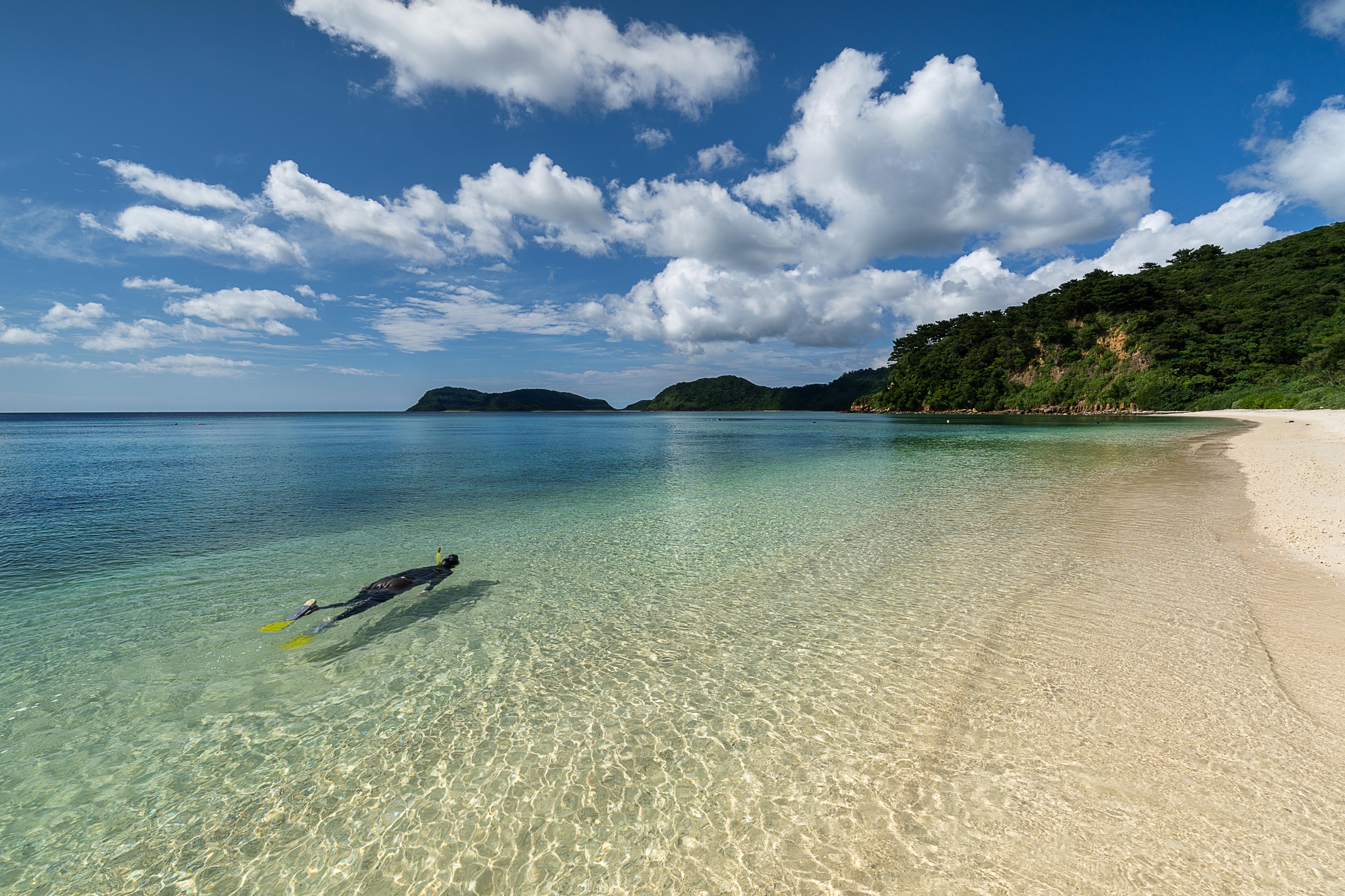 船浮イダの浜