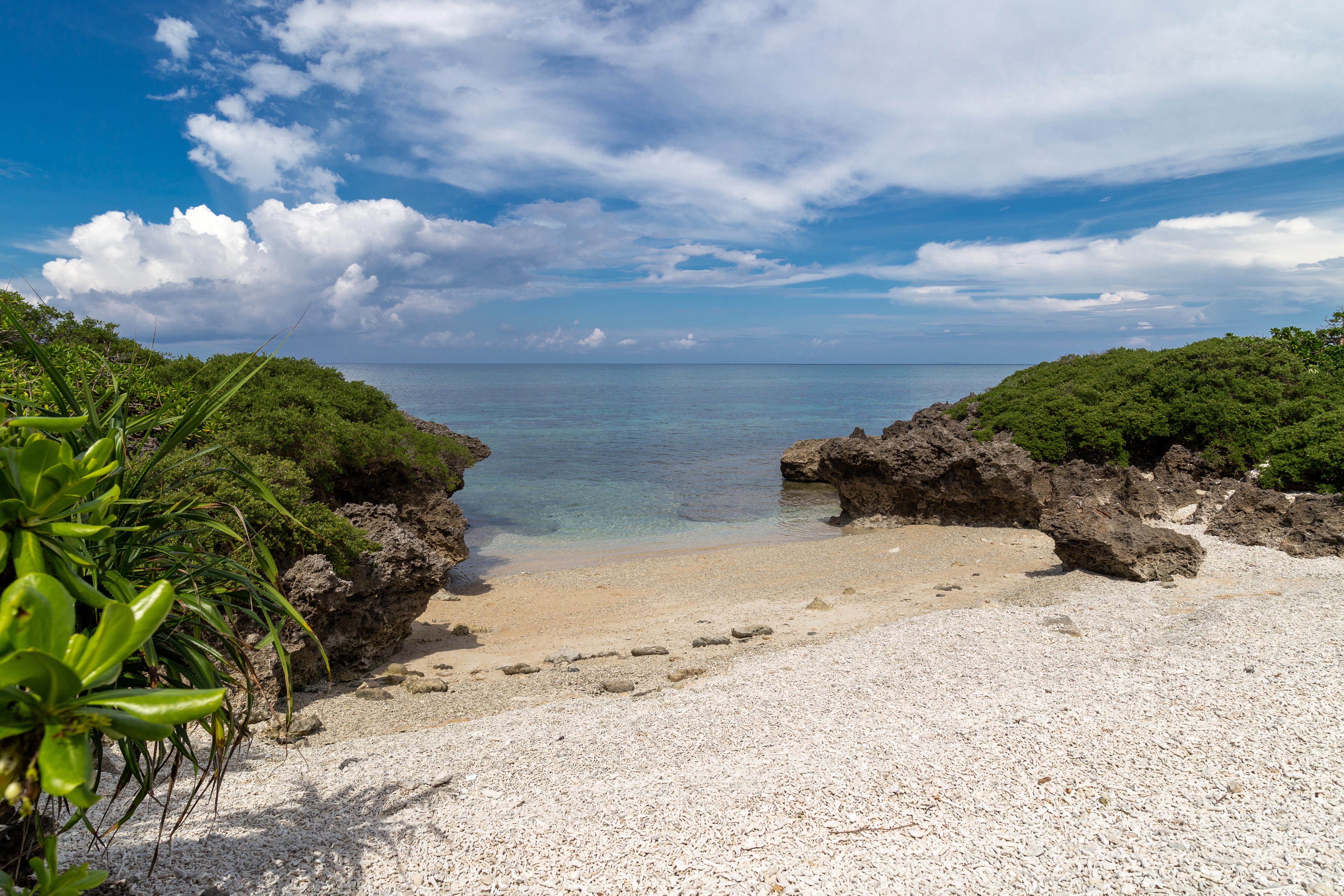 波照間島 サンゴの浜
