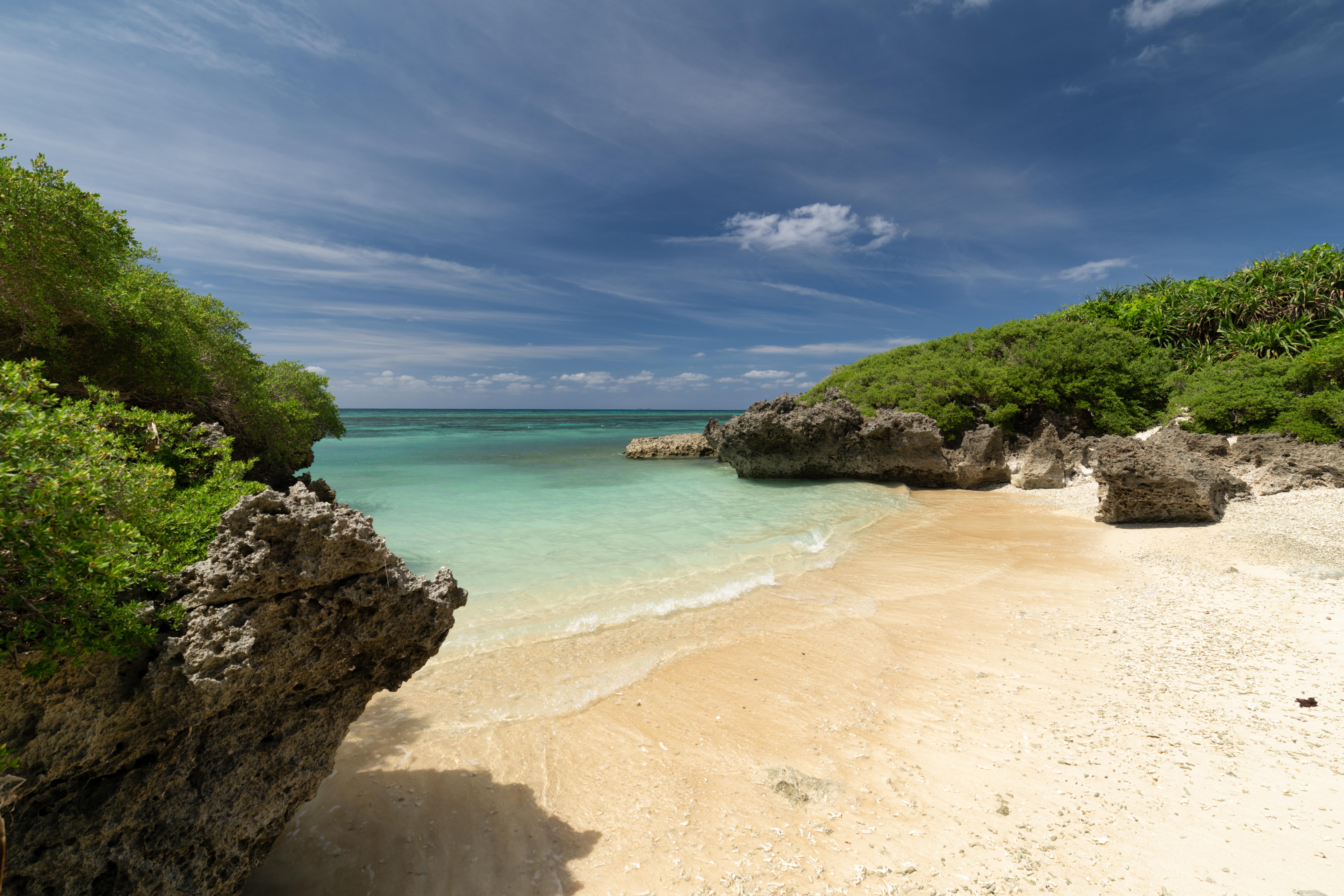 波照間島サンゴの浜