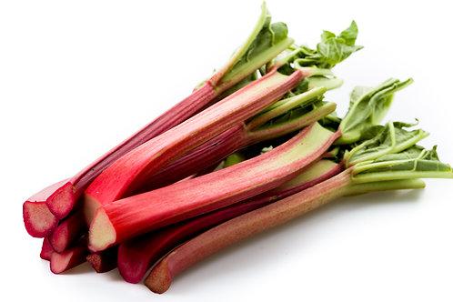 Rhubarb, Organic