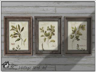 Vintage Herb Art