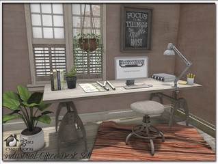 Industrial Office Desk Set Revisited