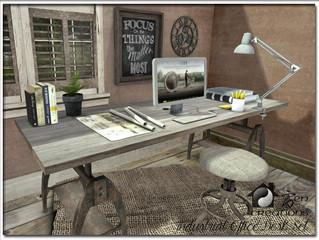 Industrial Office Desk Set
