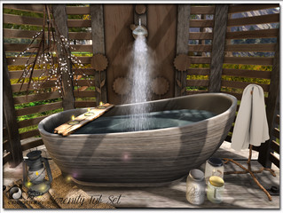 Serenity Tub and Shower Set