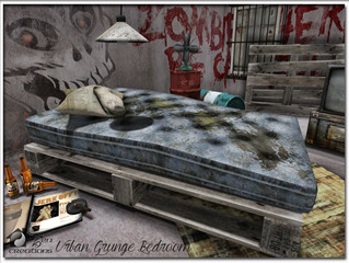 Urban Grunge Bedroom Upgraded