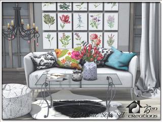 Eccentric Sofa Set