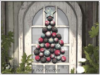 Holiday Tree Knocker