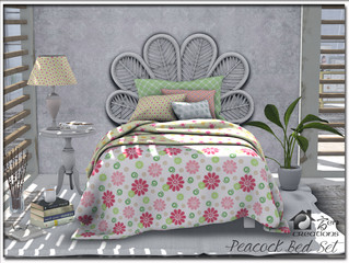 Peacock Bed Set