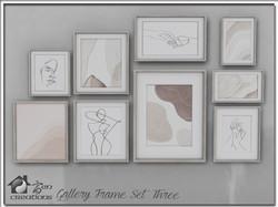 Gallery Frame Set Three