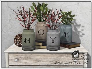 Home Jar Deco Set