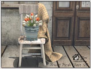Flower Fresh Chair Set