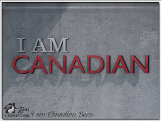 I AM CANADIAN Deco