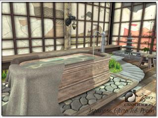 Japanese Ofuro Tub Room