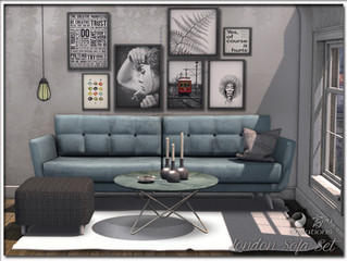 London Sofa Set
