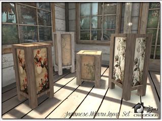 Japanese Hikaru Lamp Set