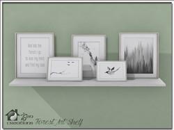 Forest Art Shelf