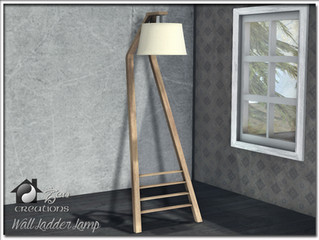 Wall Ladder Lamp