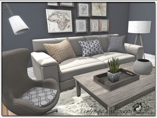 Contempo Livingroom Re-visited