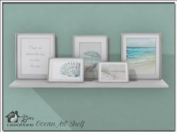 Ocean Art Shelf