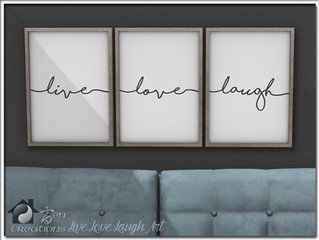Live Love Laugh Art