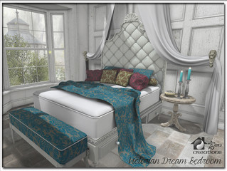 Victorian Dream Bedroom Re-Visited