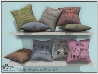 Totally Sleepless Pillow Set Re-visited