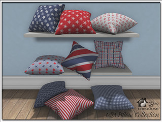 Stay at Home Gift USA Pillow Collection