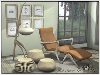 """Artist's Home"" Set"