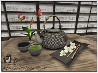 Japanese Rirakkusu Tea Set
