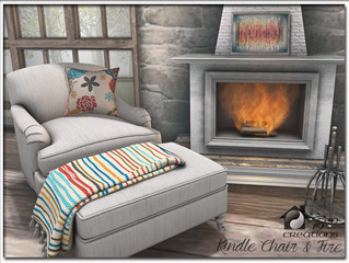 Kindle Chair & Fire Set