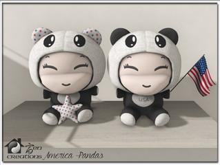 Member's Gift, USA Pandas