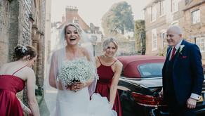 Sophie & Ollie wed at Arundel Town Hall