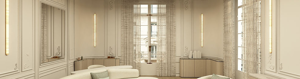 10 - Vue Salon - Appartement Victor Hugo