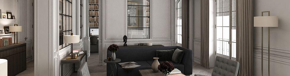 Appartement Paris 8ème Roque Interieurs
