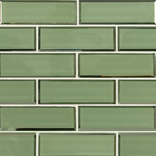 Evergreen Beveled Subway 2x6x8mm