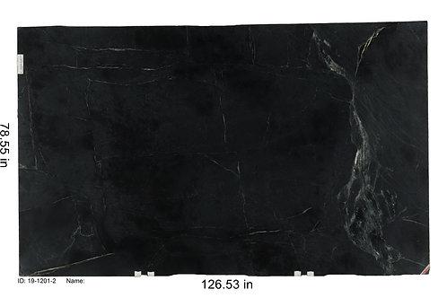 Black Pencil Soapstone 2cm Honed 126x78