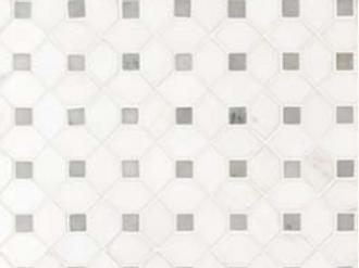 Bianco Dolomite Dotty Polished