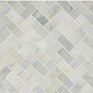 Arabescato Carrara Herringbone Honed
