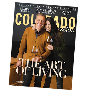 Artist Rob Gratiot in Colorado Expressions magazine Feb/March 2021 Issue