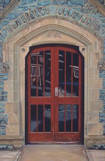 Doorway, Train Station, Wales