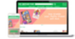 pet supplies plus web and mobile mockup.