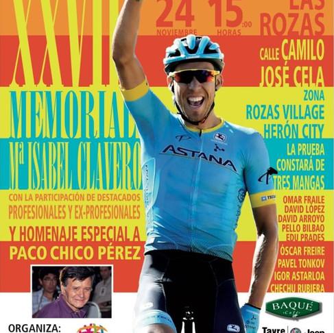 Cartel XXVII Edición. Homenaje a Paco Chico Pérez