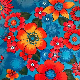 Fleurs Bleu clair