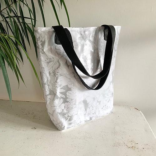 Tote Bag - Argent - intérieur Or