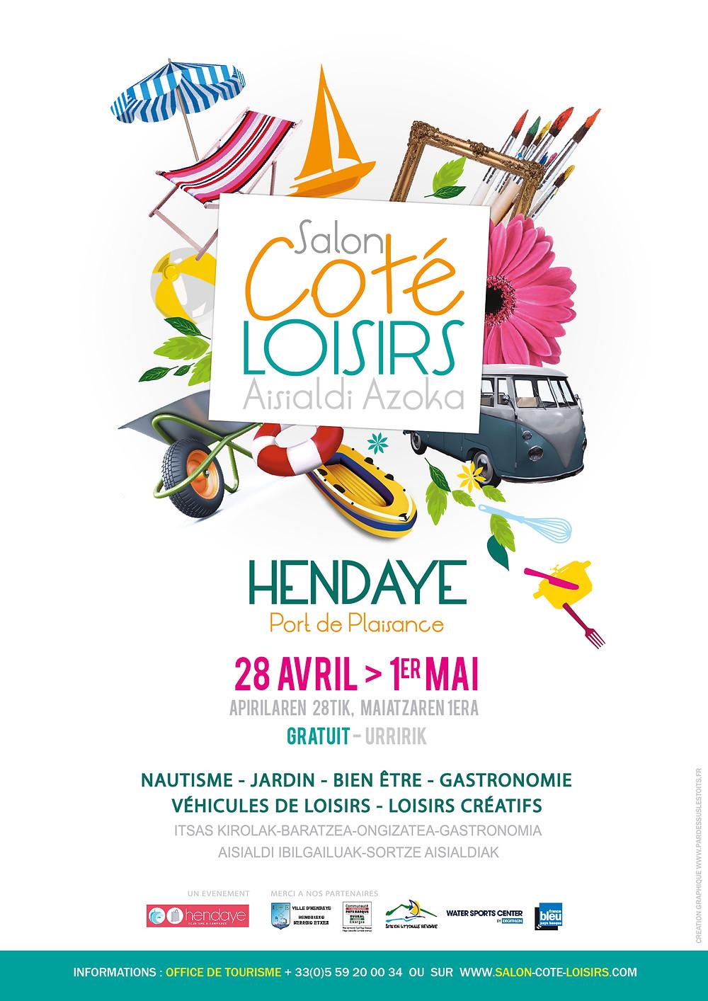 Affiche Salon Côté Loisirs