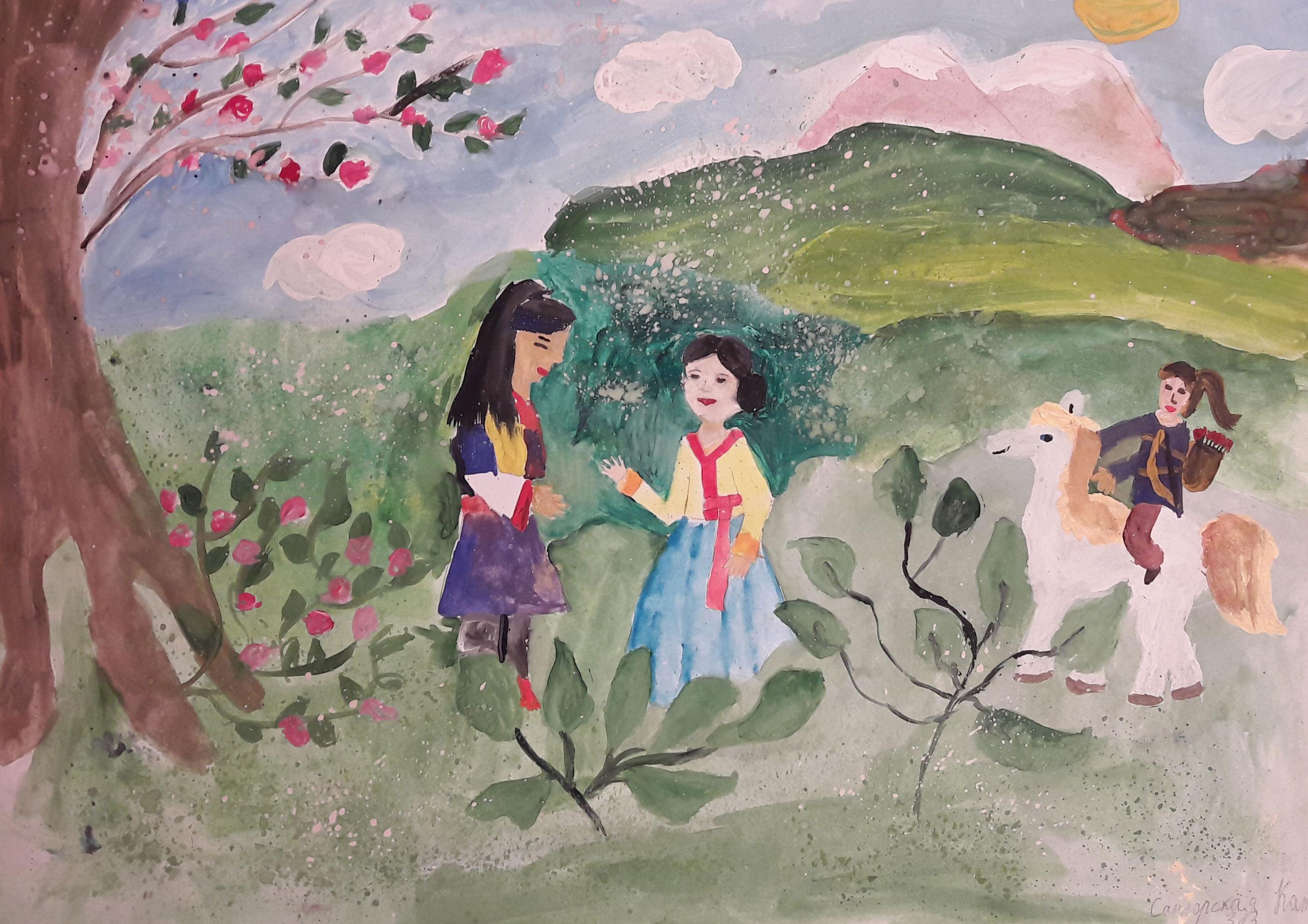 №399_Любовь юноши Пэкуна и девушки Чжэху