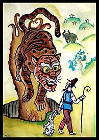 №43_О том, как поспорили тигр и прохожий