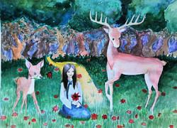 №126_Как девушка оленя спасла