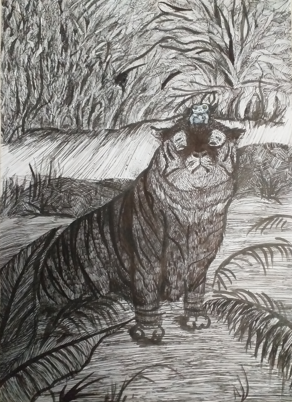 №526_Как лягушка тигра обманула