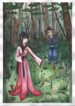 №230_Юноша и лилия